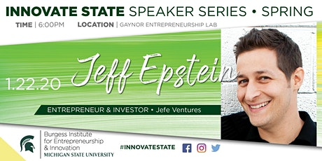 Innovate State, with Jeff Epstein  tickets