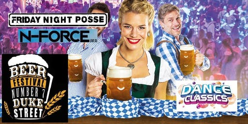 Oktoberfestival Friday Night Posse & N Force Dance Classics