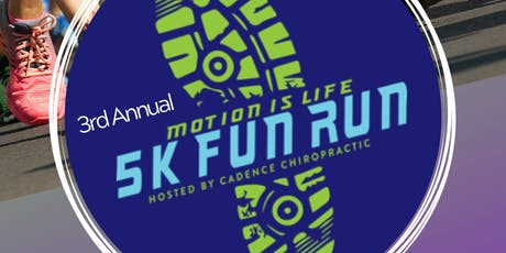 Motion Is Life 5K Fun Run supporting Royal Family Kids Camp tickets