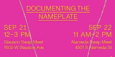 Documenting the Nameplate: Alameda Swap Meet