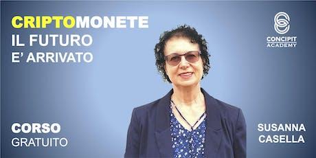 CORSO GRATUITO: CriptoMonete, il futuro è arrivato! - Calvenzano (LO) 4 Ottobre 2019 biglietti
