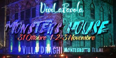 MONSTERS HOUSE (lasciate a casa ogni vostra paura) - Villa Draghi, Montegrotto Terme (PD) biglietti