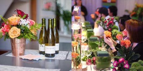 A Perfect Bloom Wine and Design - Basic Floral Design Class tickets