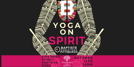 Yoga on Spirit tickets