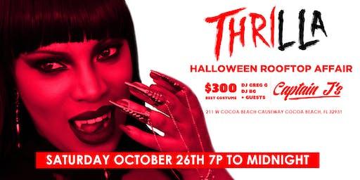 Thrilla Halloween Rooftop Affair