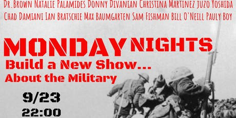 Monday Night Builds a New Show... about the Military tickets