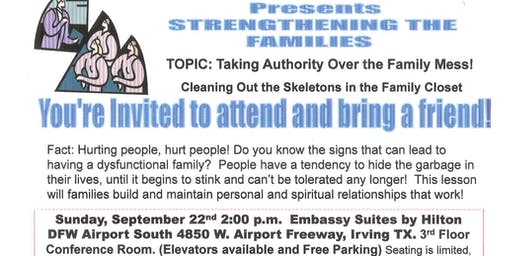 Oasis Worship Center Presents Strengthening the Families