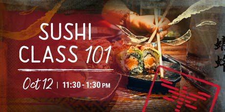 Sushi Making Class | Behind the Knife a Dragonfly Experience tickets