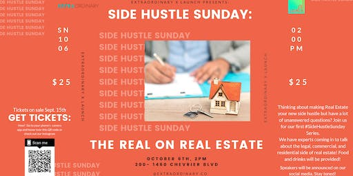 Side Hustle Sunday: The Real on Real Estate