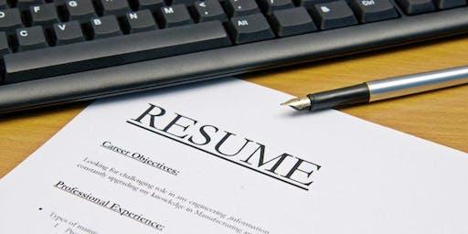Resume Workshop :)