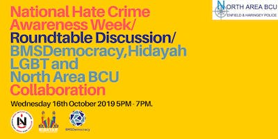 Inclusive Curriculum Roundtable for National Hate