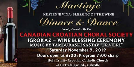 "MARTINJE ""KRŠTENJE VINA / BLESSING OF THE WINE"" tickets"
