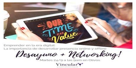 Desayuno +Networking  Olivos entradas