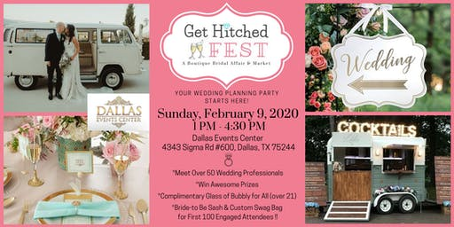 GET HITCHED FEST --Wedding Vendor Showcase & Scavenger Hunt