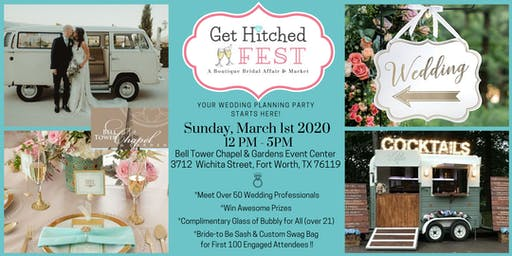 GET HITCHED FEST - A Wedding Vendor Showcase & Bridal Market Event