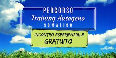 Incontro Esperienziale Grautito Training Autogeno Somatico