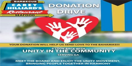 Unity in the Community- Community Fund Raiser tickets
