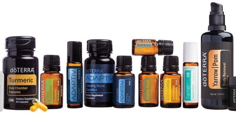Transforming Health with Essential oils tickets