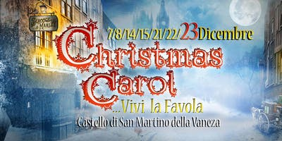 [Extra-Date] CHRISTMAS CAROL | Il Canto di Natale - Teatro Itinerante a Natale