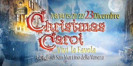 [Extra-Date] CHRISTMAS CAROL | Il Canto di Natale - Teatro Itinerante a Natale biglietti