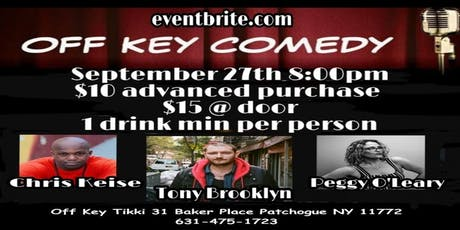 OFF KEY COMEDY NIGHT RETURNS TO OFF KEY TIKKI tickets