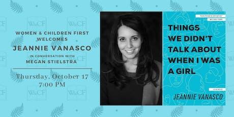Author Conversation: Jeannie Vanasco & Megan Stielstra tickets