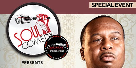 @SoulComedy starring ROY WOOD JR! 10.9.19 tickets