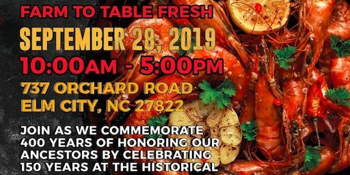 Prawn Harvest Celebrating 150 Years of Black Ownership and