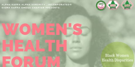 Women's Health Forum: 20/20 Vision for Physical and Mental Health tickets
