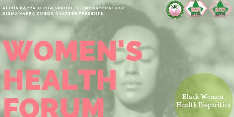 Women's Health Forum: 20/20 Vision for Physical and Mental Health