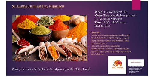 Sri Lanka Cultural Event Nijmegen