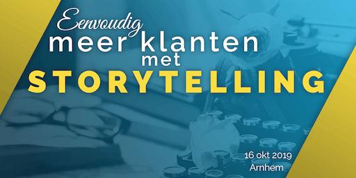 Eenvoudig meer klanten met storytelling