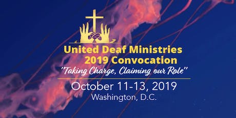 United Deaf Ministries 2019 Convocation tickets
