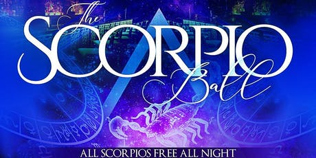 The Scorpio Ball w/ Power 105's DJ Prostyle @ Taj II – All Scorpios FREE! tickets