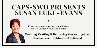 CAPS- SWO Presents:  Susan Luke- Evans