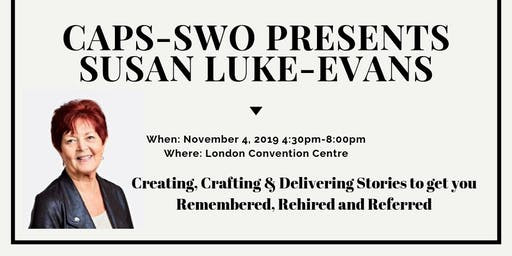 CAPS- SWO Presents:  Susan Luke- Evans
