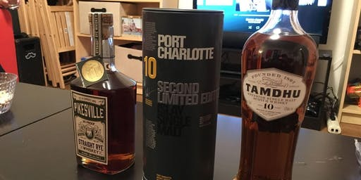 Tasting Whiskeys From Around The World [Inner Sunset]