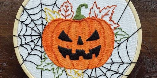 Halloween Beginner's Embroidery - 26 October 2019