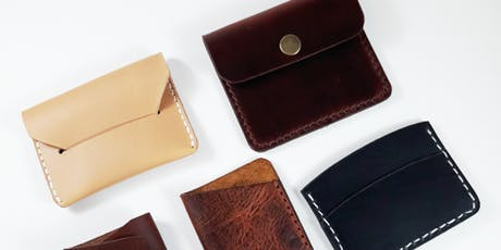 Intro to Leather Working: Hand-Stitched Wallets  (October 12th, 2019) tickets