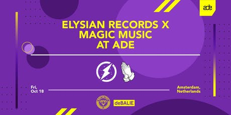 Elysian x Magic Music ADE Showcase tickets