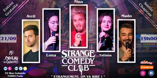 Strange Comedy Club - Stand up #61