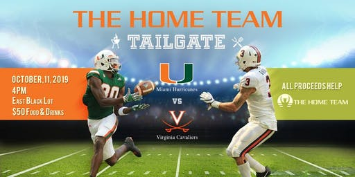 Tailgate - Miami Hurricanes vs Virginia Cavaliers