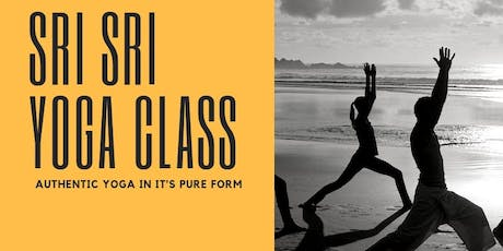 Sri Sri Yoga Class tickets