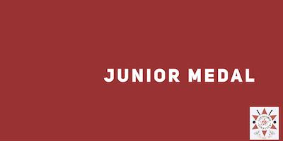 Junior Medal - October 2019
