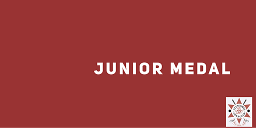 Junior Medal - March  2020