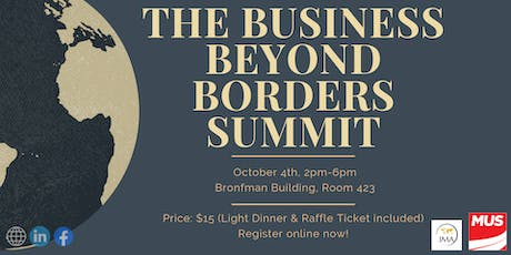 The Business Beyond Borders Summit tickets