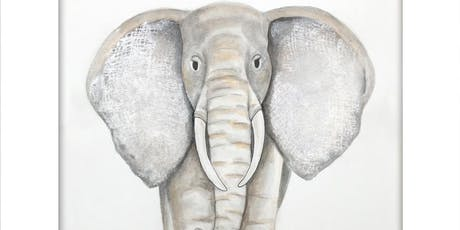 "Adult Watercolor Class   ""Elephant"" tickets"