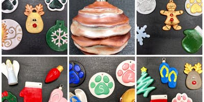 "Naugatuck High Girls Basketball Fundraiser ""Paint & Go Ceramic Ornaments"""