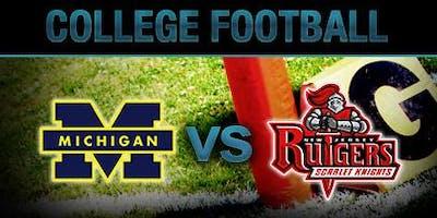 Michigan vs. Rutgers Football Watch Party