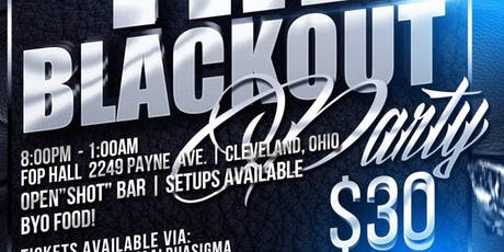 The Blackout tickets